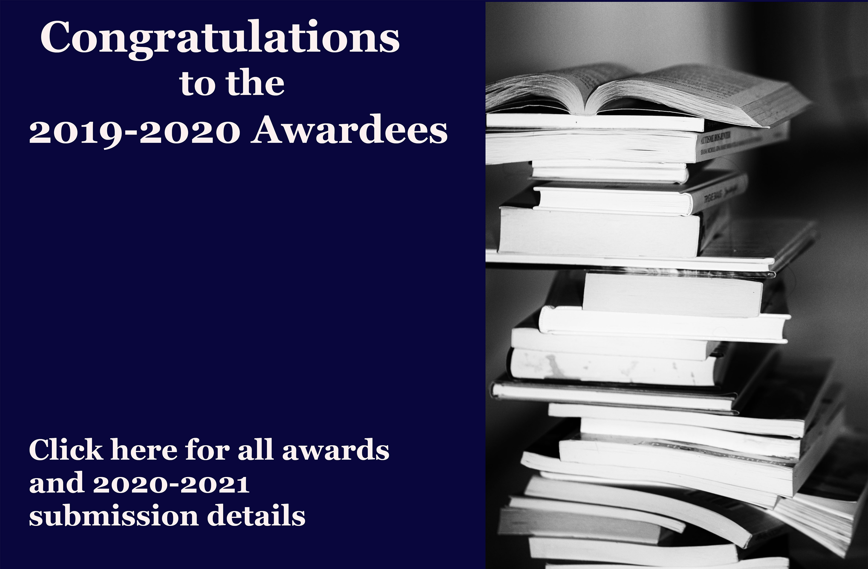Find awards and 2020-2021 submission details